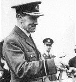 Air Vice Marshall Sir Christopher Joseph Quintin Brand, born in Beaconsfield, Northern Cape. (SAAF Museum)