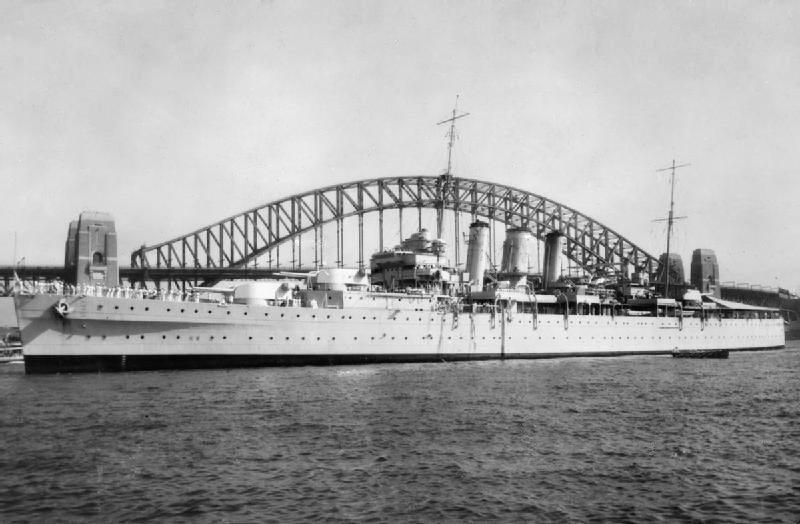 HMS Dorsetshire. (Image - Wikipedia Commons)