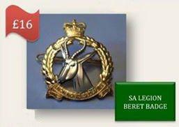 SA Legion Beret Badge