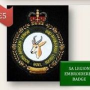 SA Legion Badge