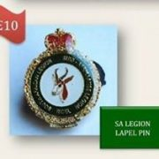 SA Legion Lapel Pin