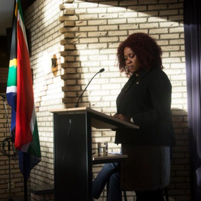 SA Charge d'Affaires, Mrs Namhla Gigaba