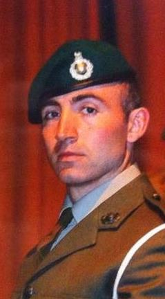 Dive Buddy Royal Marine Commando Derek McMullen
