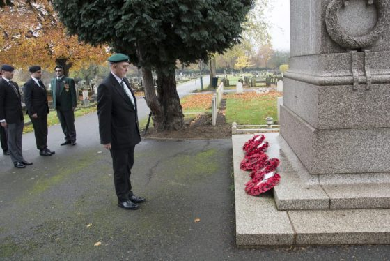 South African Veterans' Armistice Day Parade @ Richmond Cenotaph