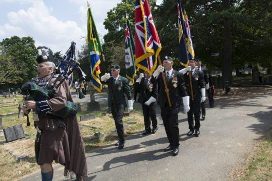 Three Ships Parade @ Richmond Cenotaph | England | United Kingdom