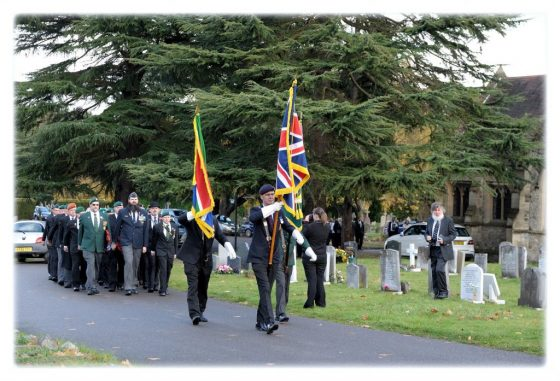 Three Ships Parade @ Richmond Cenotaph   England   United Kingdom